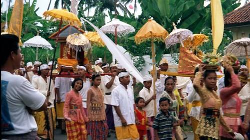 Melasti Parade near Munduk