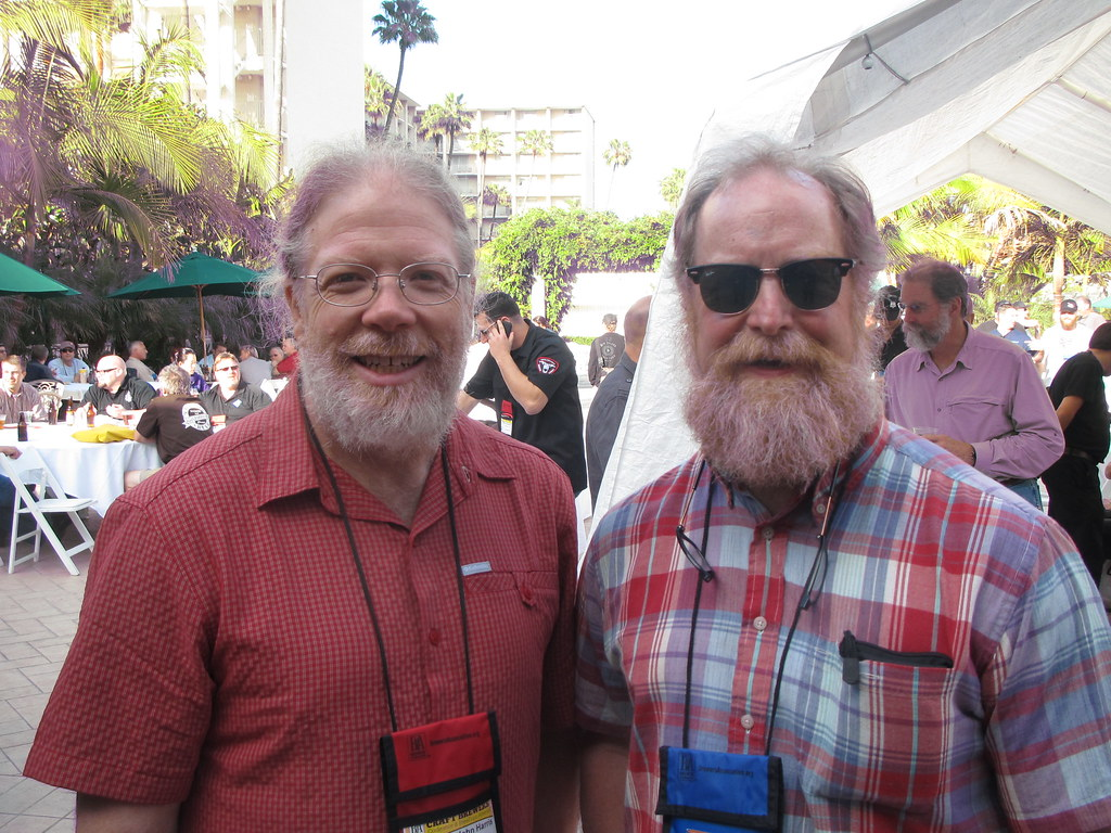 Former Full Sail Brewmaster John Harris and Portsmouth Brewmaster Tod Mott