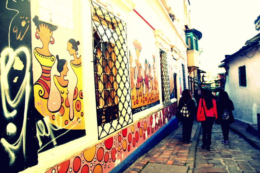 En el Barrio de La Candelaria
