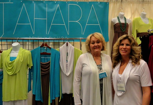 Diane and Jeana of Tahara Clothing