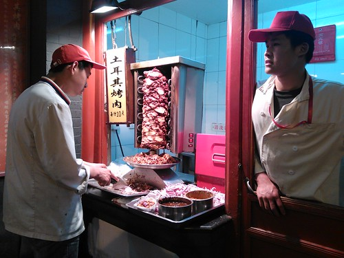Doner Kebabs in China