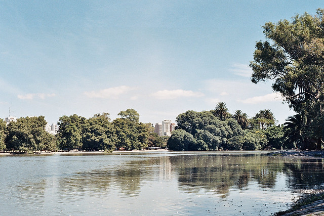 Parque Tres de Febrero - Lagos Artificiales