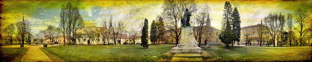 Miskolc Deák-tér panorama