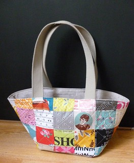 Custom patchwork bag