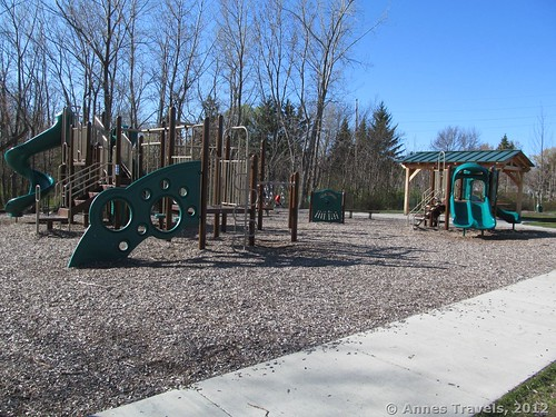 Playground at Abraham Lincoln Park, Webster, New York