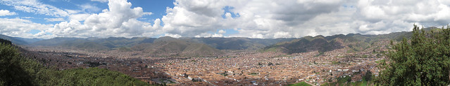 Cusco, Peru - As seen from Saqsayhuaman Look-out