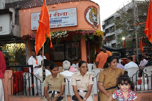 The Street Photographer Of Bandra Nerjis Asif Shakir 2 Year Old .. Shiv Jayanti Shiv Sena by firoze shakir photographerno1