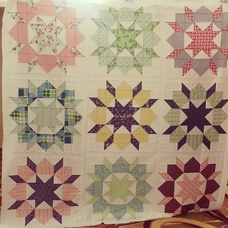 Finished my Swoon quilt top!