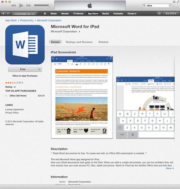 iPad Word