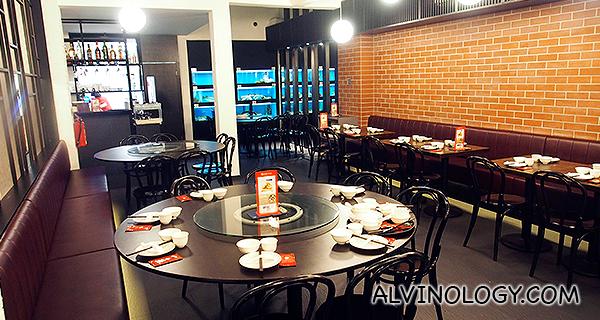 Prinsep Street restaurant interior