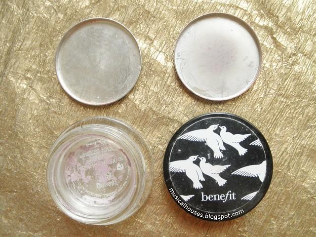 Empties Eyeshadow Cream Powder Stila Benefit