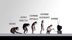 Darwin_Evolution_satirical_illustration12