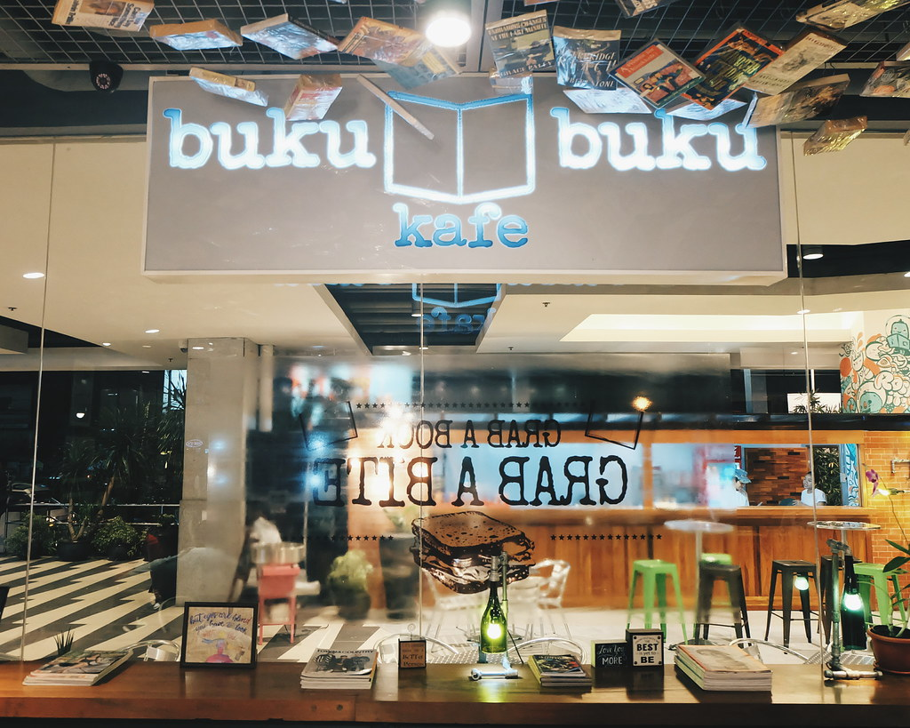 buku buku  kafe book cafe