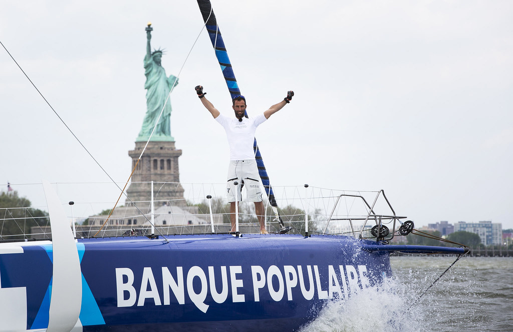 Arrivée The Transat - New York