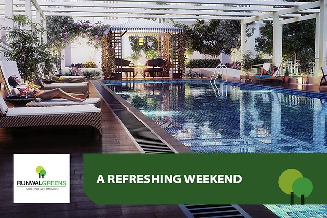Runwal Greens - 2 BHK Flats for Sale in Mulund West Mumbai