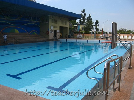 Faith Academy pool