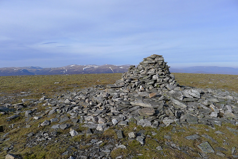 Summit of An Sgarsoch