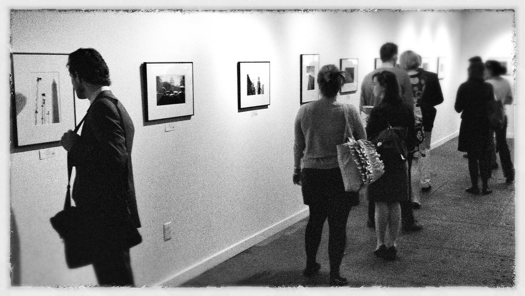 Opening night at the DCist Exposed show