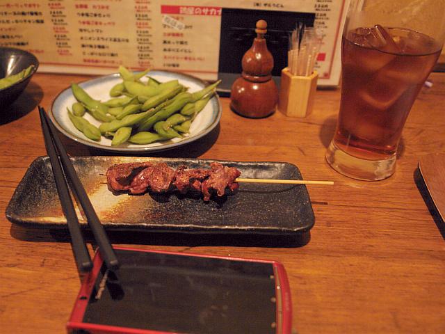 The uchoten sakaba (Japanese izakaya) at Kanda, drink eat and enjoy!