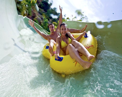Fun at Siam Park in Tenerife