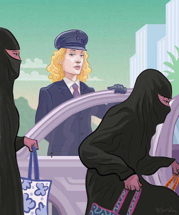 Driving Miss Saudi PJ McQuade
