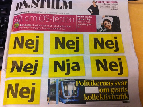 Dn om nolltaxa 20 april