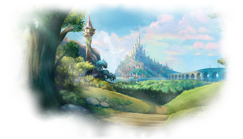 Disney.com Dress-Up Dolls: Rapunzel - Disney Princesses