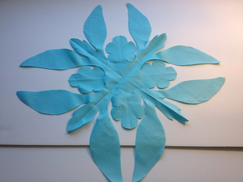 Hawaiian Applique cut out