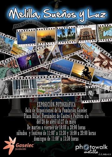 CARTEL Exposicion de Photowalk-Melilla