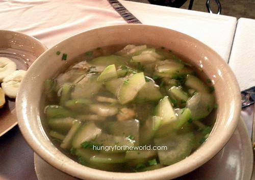cucumber (pipino) soup