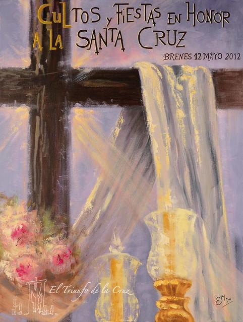 Cartel de la Santa Cruz 2012