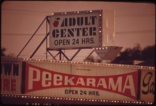Signboards in Las Vegas, May 1972