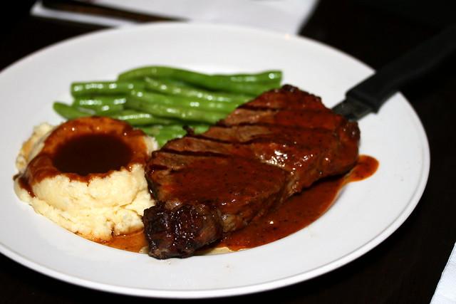 Hard Rock Cafe Sentosa Singapore: New York Strip Steak