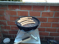 First BBQ of the year at Jan and Kirsti's