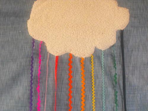 Cortina arcoiris de Barullos