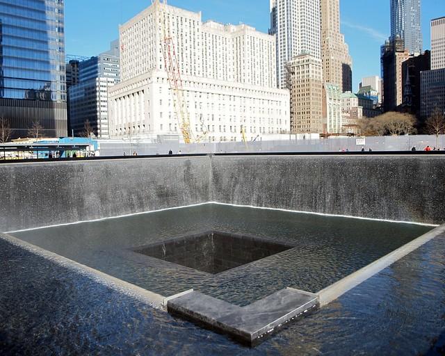 9 11 memorial south pool world trade center new york for Garden city pool new york