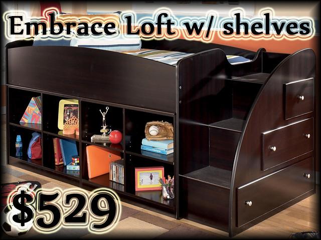 B239EMBRACELOFTallshelves$529