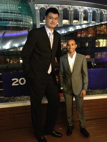 Lewis & Yao Ming
