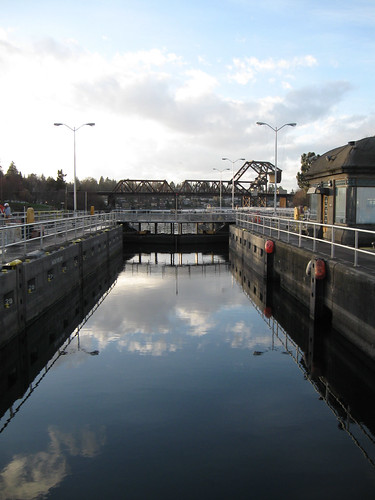 Seattle Rides 1: Winter 2012 - Ballard Locks