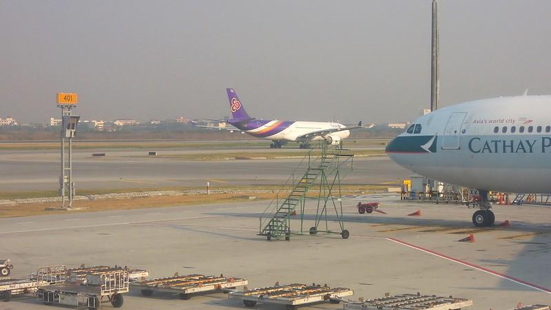 Thai Airways, Suvarnabhumi Airport, Bangkok