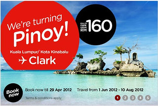 Cheap flights to Clark from Malaysia