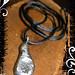 Pendant Silver Molten Teardrop 03