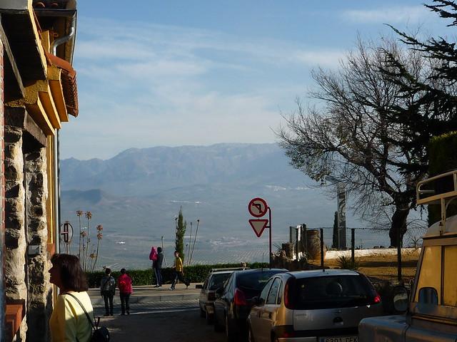 Kulisse der Sierra Magina