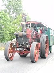 "Traction engine A ""His Majesty"", Ringmer"