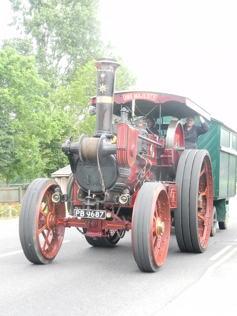 """Traction engine A """"His Majesty"""", Ringmer"""