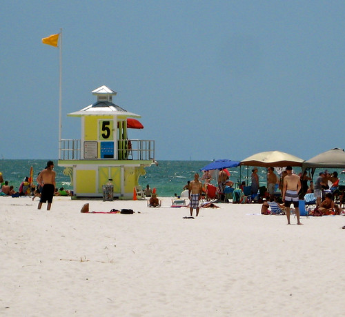 Clearwater Beach Lifeguard Station