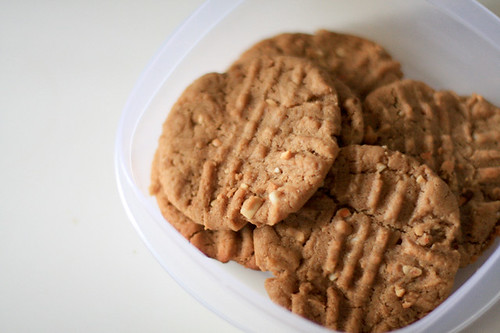 Peanut Butter Cookies by jenib320