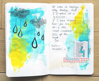 30 Day Art Journal Challenge - Day 4