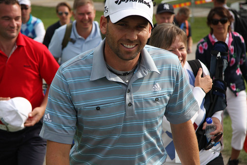 Sergio Garcia after the 2nd round