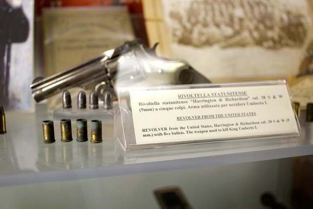 Revolver used to kill King Umberto I